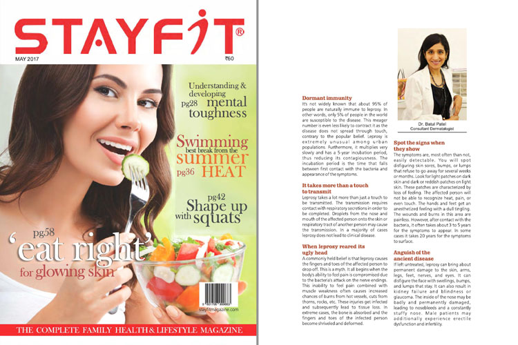 Article in StayFit Magazine